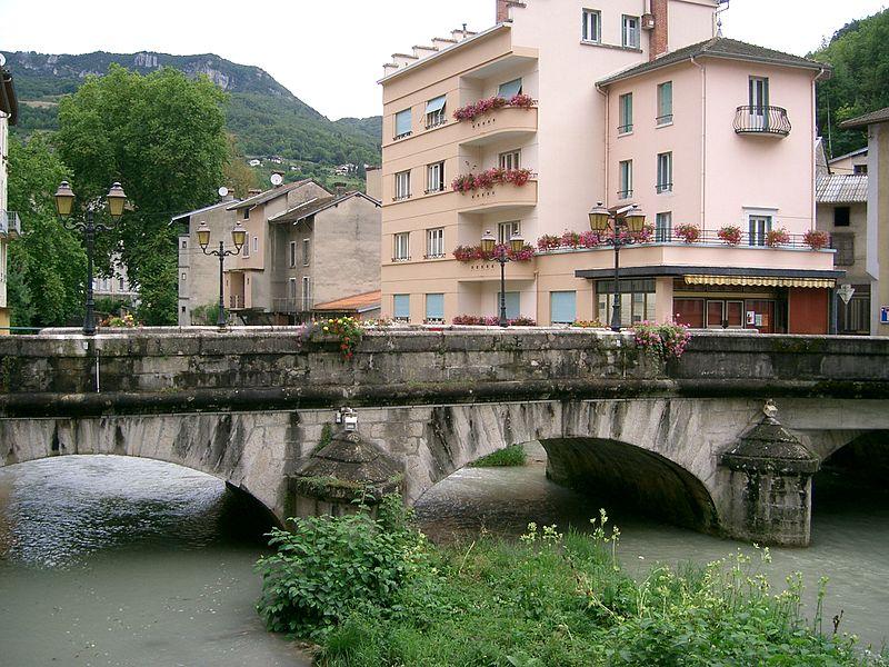 Pont sur l'Albarine à Tenay
