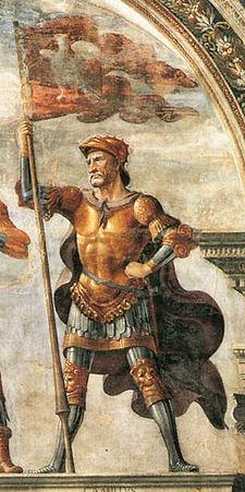 Camille fresque de ghirlandaio florence 1482 1484
