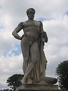 Cincinnatus statue de foyatier jardin des tuileries