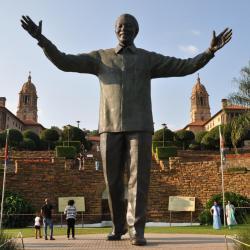 Nelson Mandela à Prétoria
