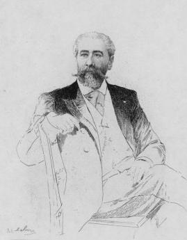 José-Maria de Hérédia par Adolphe Lalauze