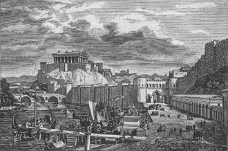 Le temple de jupiter sur le capitole