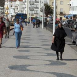 Promenade à Nazaré