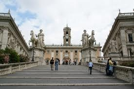 Statues de Castor et Pollux - Capitole de Rome