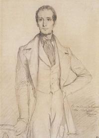 Lamartine (portrait de Theodore chasseriau)